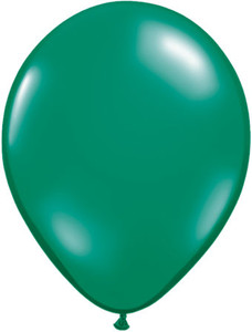 jewel emerald green balloons