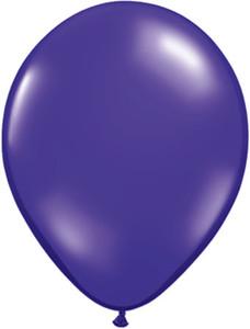 16 inch quartz purple latex balloons