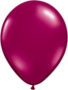 burgundy balloons sparkling