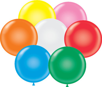17-inch biodegradable latex balloons