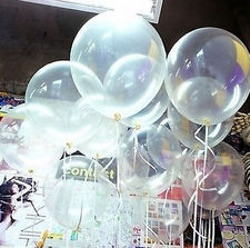 clear latex balloons see through balloons