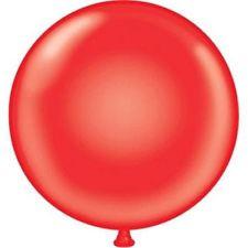 "17"" Tuf-Tex Red Latex Balloons 72ct  #11707"
