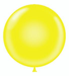 tuf tex round balloons are mcr yellow balloons