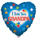 "18"" I Love Grandpa Balloon (5 PACK) #88009"