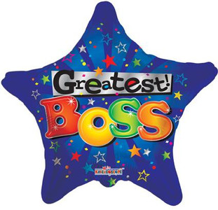 "18"" Greatest Boss Balloons 1ct"
