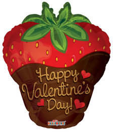 valentine balloons strawberry balloon