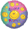 "18"" Alivate Pronto Spanish Get Well Balloon (5 PACK) #17463"