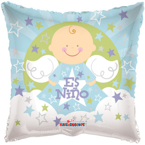 "18"" Angel Sobre Nubes Es Nino 1ct"