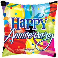 happy anniversary balloons
