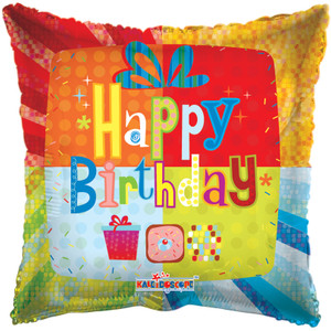 "18"" Birthday Present (5 Pack)#19278"