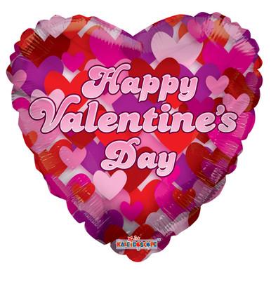 foil valentine balloons