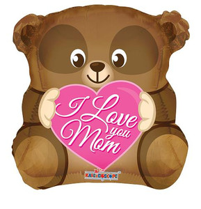 "18"" I Love You Mom Bear (5 PACK)#84196"