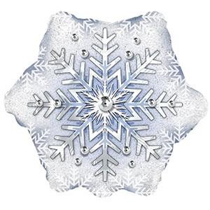 "18"" Prism Pattern Snowflake 1ct"