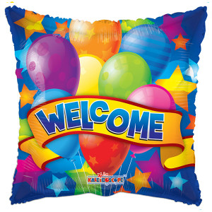 "18"" Welcome Stars Balloon 1ct"