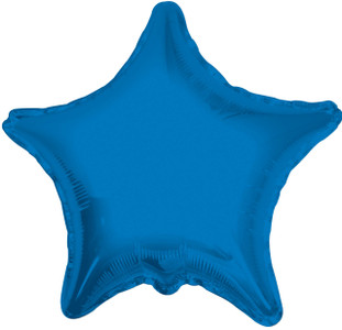 blue star balloon