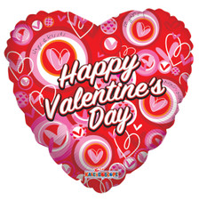 happy valentine's day mylar balloons