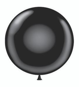 big round balloons,24 inch round black balloons