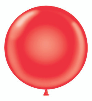 24 inch red balloons-red round latex balloons