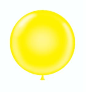 24 inch yellow balloons