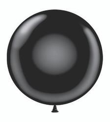 big black balloon big round black balloon