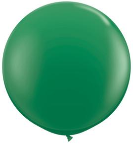 "36"" Tuf Tex Green Round Latex Balloons 1ct #3604"