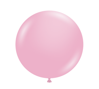 "36"" Tuf Tex Pearl Shimmering Pink Round Latex Balloon 1ct #3658"