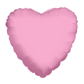 "4"" Pink Hearts Foil Balloon Air Fill Only (5 PACK) #34111-04"