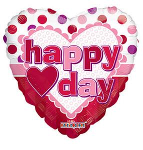 """4"""" Micro Mini Happy Valentine 1ct #81173-04"""