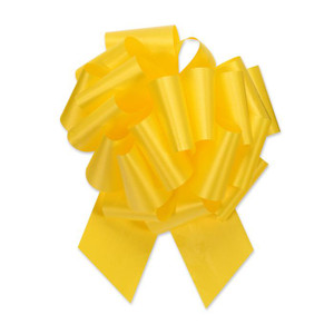 "5"" Daffodil Yellow Perfect Pull Bow 1ct"