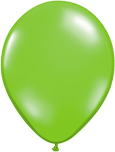 "5"" Qualatex Spring Green Latex Balloons 100Bag #45707"