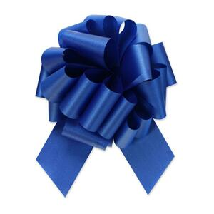 "5"" Royal Blue Perfect Pull Bow (10 Pack)"