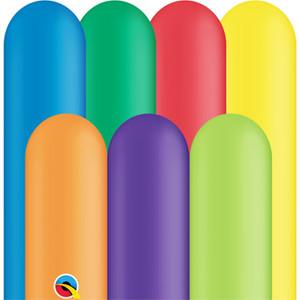 carnival colors twisting balloons qualatex 260q