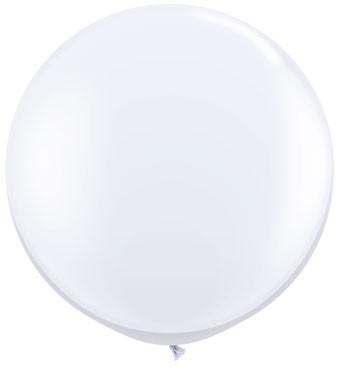giant white latex balloons