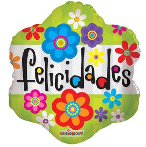 """9"""" Felicidades 1ct"""