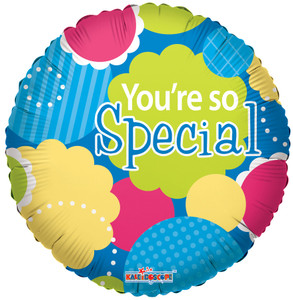 "9"" You're So Special Foil  Air Fill Only 1ct #19497"