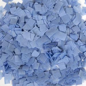 Confetti Baby Blue Snow Tissue Confetti 1LB Bag