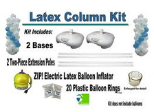 latex balloon column kit