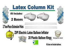 latex balloon column kit