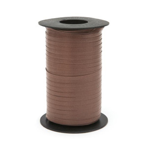 "**Sale Price**Brown Thin Curling Ribbon 3/16""x1500' #118"