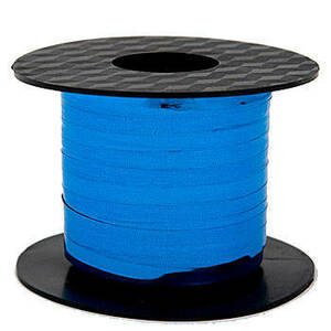 "Metallic Blue Mylar Curling Ribbon 3/16""x100 Yds #GL100-12"