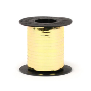 "Metallic Gold Shimmer Mylar Curling Ribbon 3/16""x750' #NB1-15"