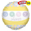 "18"" Baby Shower Foil Balloons 1ct #17749"