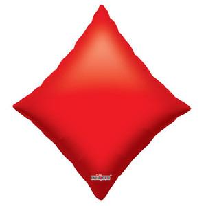 """28"""" Casino Diamond Shape Suit Balloon 1ct"""