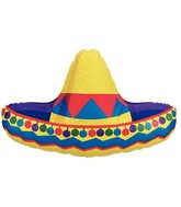 "34"" Sombrero Balloon 1ct"