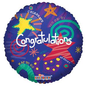 "18"" Congratulations Balloons 1ct"