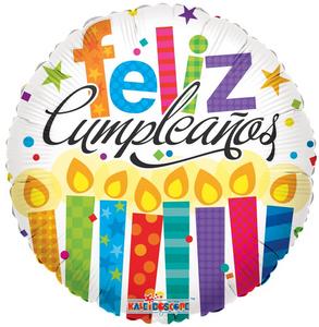 "18"" Feliz Compleanos Globos"