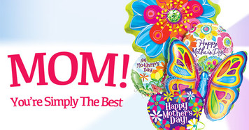 """Mother's Day 18"""" Mylar/Foil Balloon Bulk 100 ct See Details"""