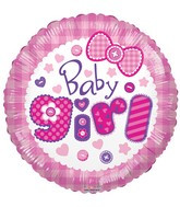 "18"" Baby Girl Quilt 15373-18"