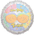 twins balloons baby twins balloons