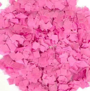 Confetti Pink Snow Tissue Confetti 1LB Bag